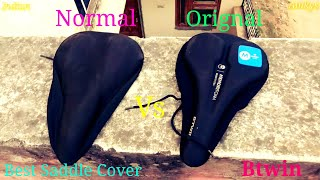 Best Bicycle Saddle Cover Btwin By Decathlon Sports in Bike Cheapest Cover in [Hindi] INDIAN AMKYS