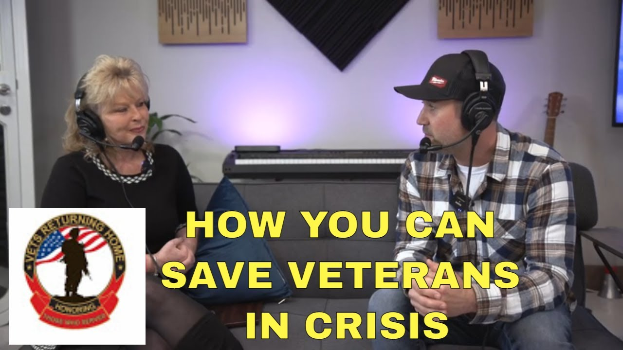 Vets Returning Home Podcast with Founder Sandy Bower & Keith Kalfas YouTube Personality