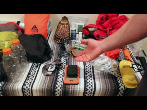 What's in my pack? 3 Day Backpacking Trip - Summer