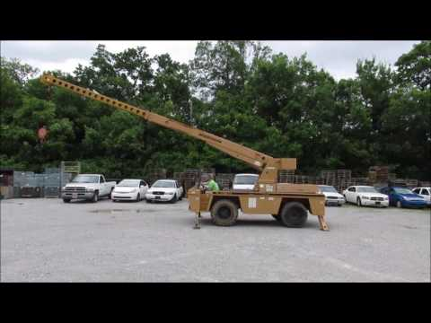 8 Ton Broderson Carry Deck Crane-