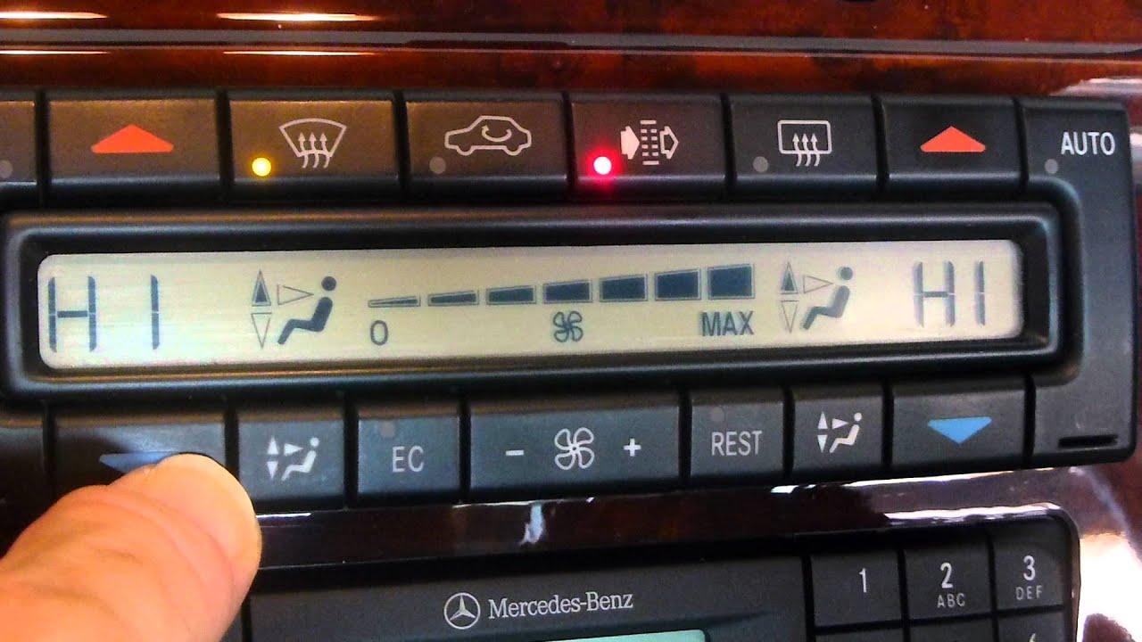 2003 Honda Accord Fuse Diagram For Air Conditioning Clk 200 Kompressor W208 Climate Control Mercedes Forum