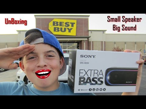 SONY SRS-XB30 Wireless Bluetooth Speaker / Amazing Sound!
