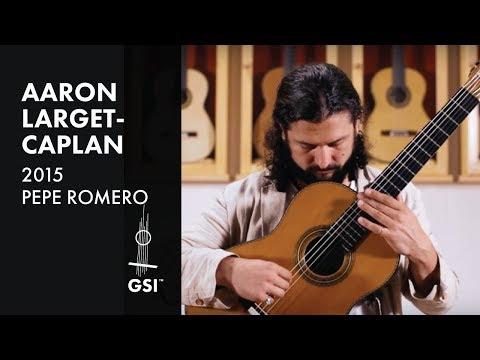 Dyens Tango en Skai - Aaron Larget-Caplan plays 2015 Pepe Romero