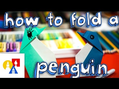 How To Fold An Origami Penguin