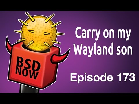 Carry on my Wayland son | BSD Now 173