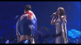 Eurovision 2017|ЕВРОВИДЕНИЕ 2017 Funny ass from Australia (Австралия показала задницу Украине)