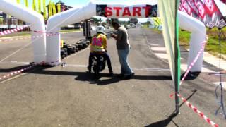 Drag bike binuang Agus BTG32