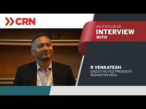 R Venkatesh, Executive Vice President, Redington India