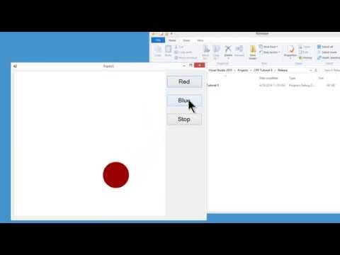 Visual C++ 2010 Express Tutorial 9 - Playing SWF Animation Files - Loading Shockwave Flash Object