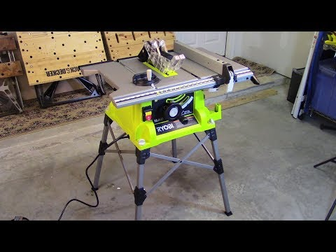 How To Set Up Your New Ryobi Portable Table Saw