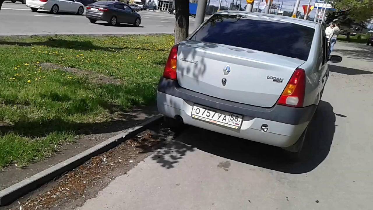 РЕНО ЛОГАН - ТАКСИ. ПРОБЕГ 700.000 км. - YouTube