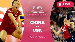China v United States - Group 1: 2016 FIVB Volleyball World Grand Prix(Watch the live stream of the FIVB Volleyball World Grand Prix 2016 here! About the FIVB Volleyball World Grand Prix 2016 The FIVB Volleyball World Grand Prix ..., 2016-06-12T13:55:45.000Z)