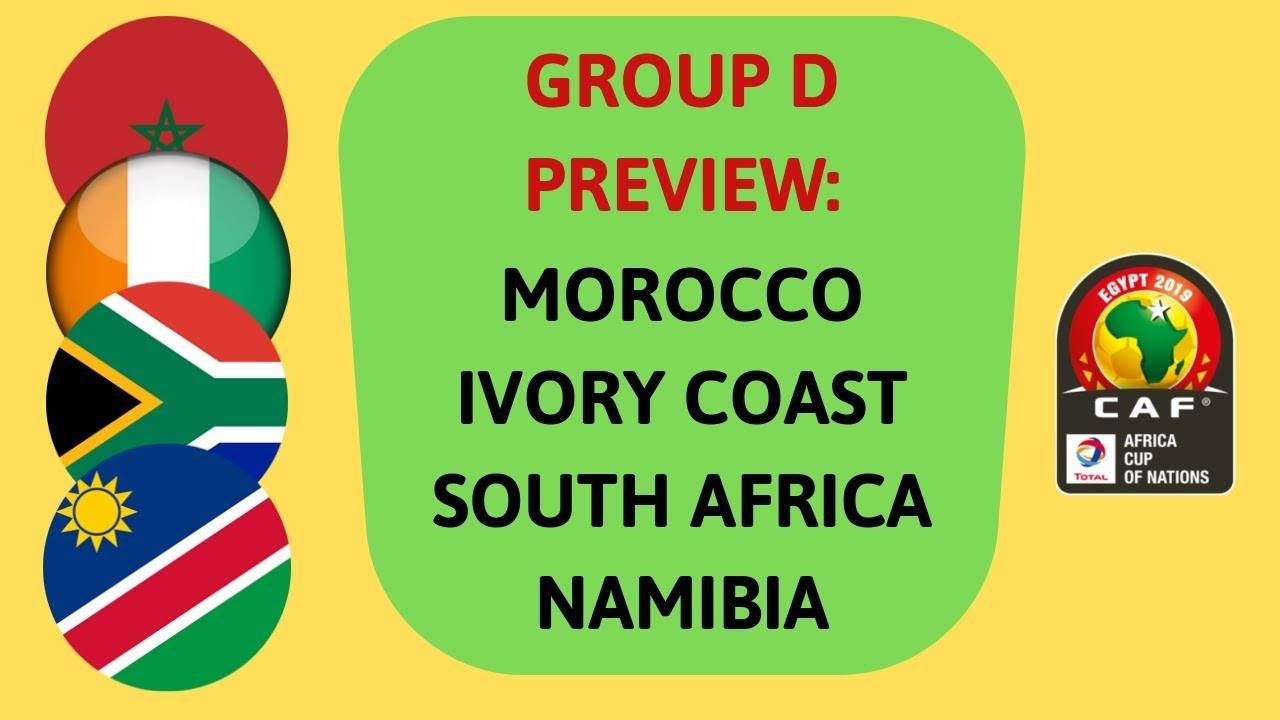 Image result for South Africa vs Namibia AFCON 2019