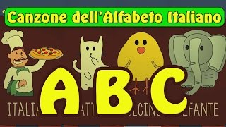 Canzone dell'Alfabeto ABC - Imparare l'alfabeto Italiano per Bambini
