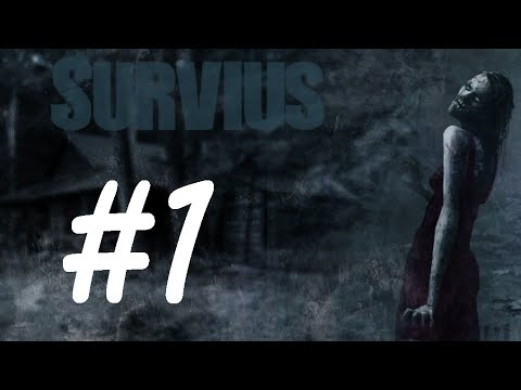 Survius Episode 1 ( open world zombie survival gameplay - English) | TRYING TO SET UP CAMP