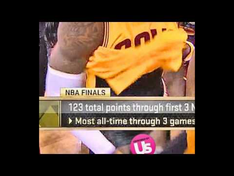 ec2daefe1b2 LeBron James  ABC Accidentally Shows His Pe---nis During NBA Finals ...