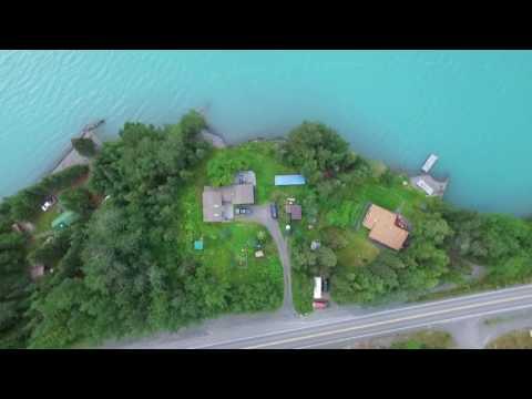 Cooper Landing Alaska via Drone [FancyDJI]