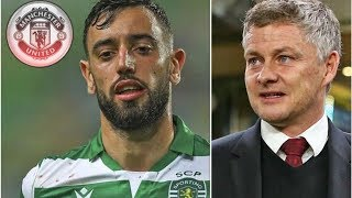 Man Utd make decision on paying Bruno Fernandes Sporting Lisbon transfer price- transfer news today