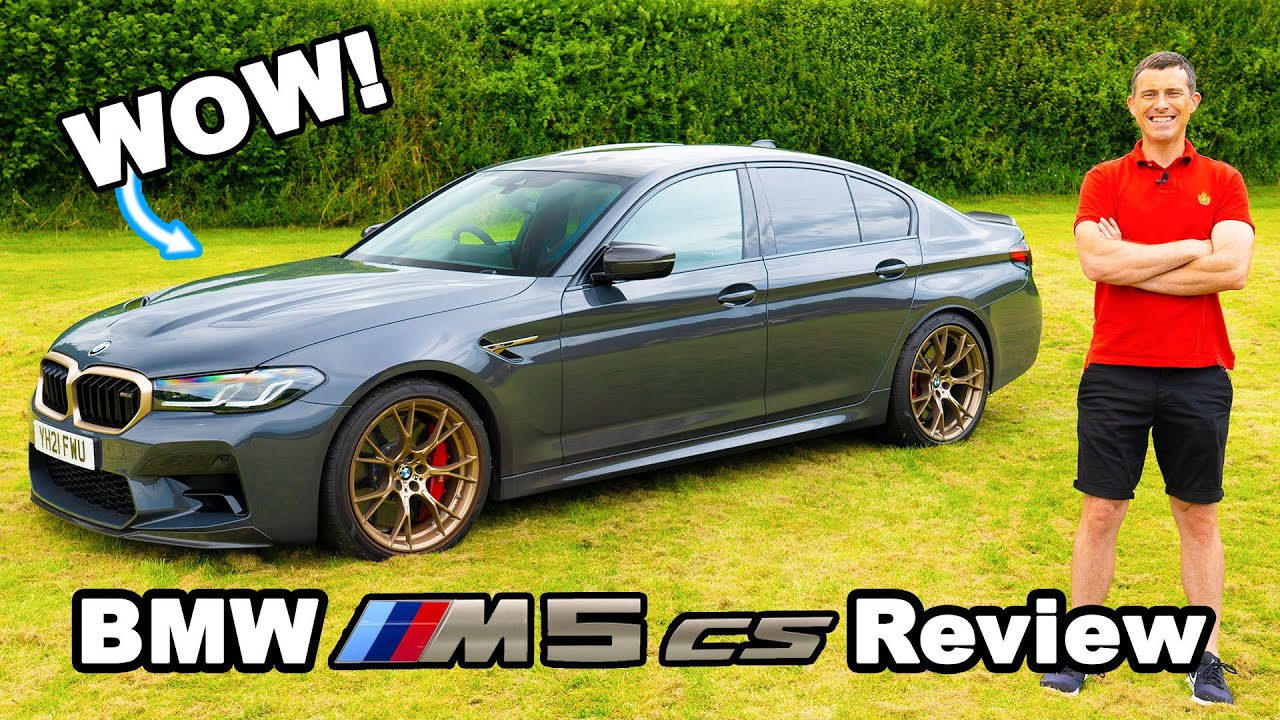 Download The BMW M5 CS is pure M Car GOLD!