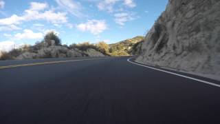 GoPro Hero4 4k Palm to Pine Highway 74 California in an M3