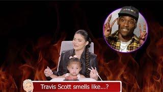 Kylie Jenner REVEALS Travis Scott Smells LIke Weed On Ellen's 'Burning Questions'!