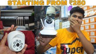 Cheapest CCTV / Spy Camera Market [WholesaleRetail] | Chandani Chowk | Delhi | Prateek Kumar