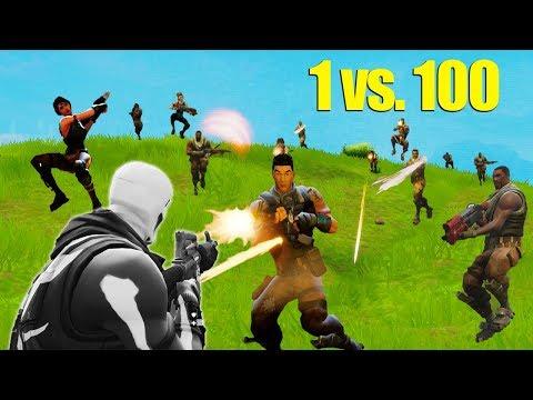 1 Versus 100 Challenge [Fortnite]