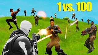1 Versus 100 Challenge [Fortnite]