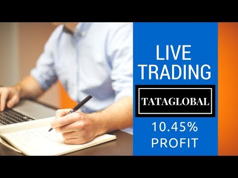 10.45% Profit - TATAGLOBAL -  Live Trading by Smart Trader