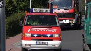 [BRAND IN KiTa] Anfahrt Räumungsübung Freiwillige Feuerwehr Melsungen