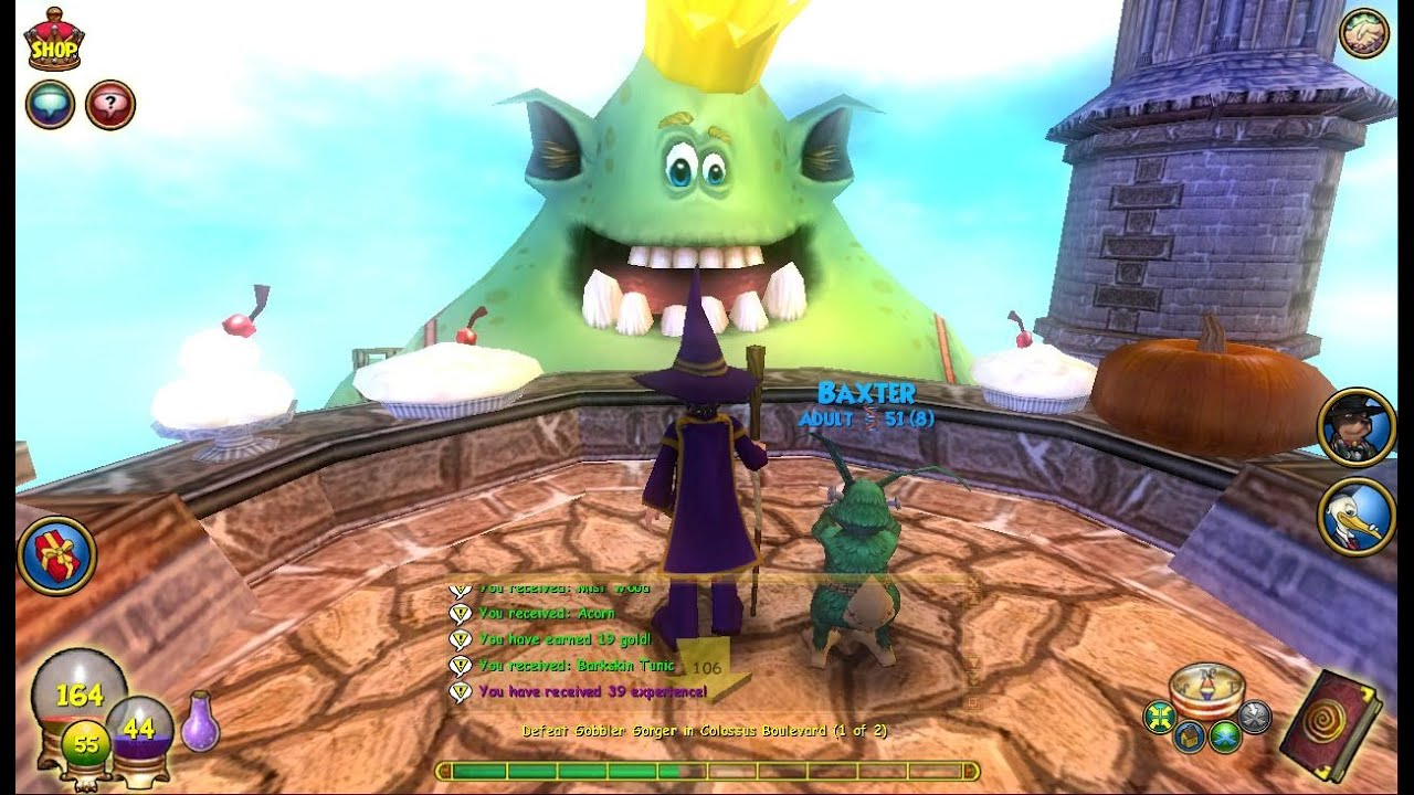 Wizard101 Gobbler Wwwtopsimagescom