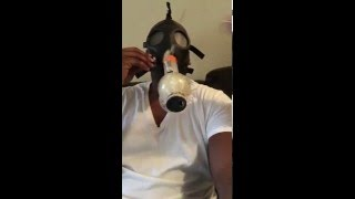 Original Video of Laremy Tunsil Smoking Off A gas Mask