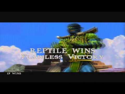 Mortal Kombat Shaolin Monks Fatality Compilation