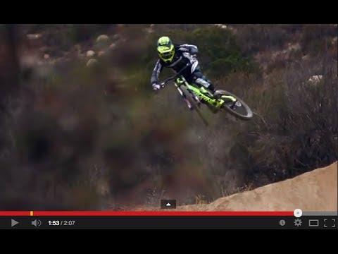 Caroline Buchanan, Downhill Bike Blazing