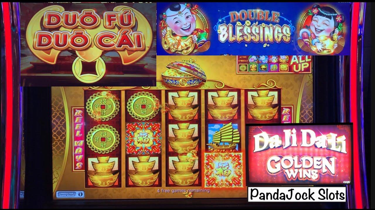 Double Blessings, Duo Fu Duo Cai and Da Ji Da Li bonuses!