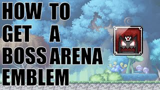 [MapleStory] How To Get An Easy Emblem (Boss Arena Emblem)