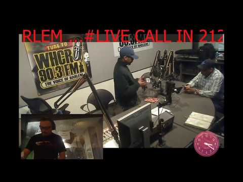 Junior White DJ on the House in Harlem radio show