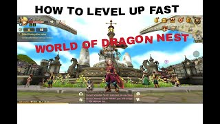 Tips on how to level up fast in world of dragon nest (BISAYA VERSION)