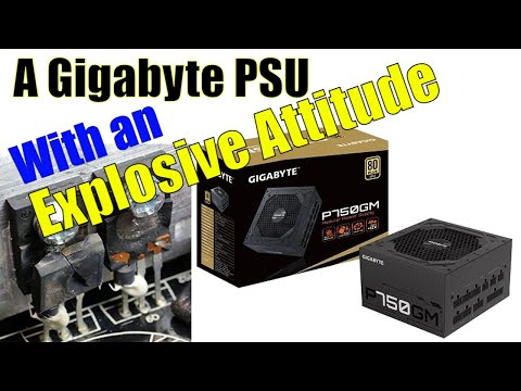 Gigabyte GP-P750GM Review - A Power Supply with an explosive attitude