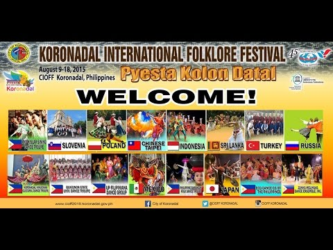 CIOFF 2015 Day 3 - Koronadal International Folklore Festival (August 13, 2015)