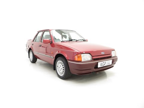 A Truly Outstanding Special Edition Ford Orion Equipe with 29,790 Miles - SOLD!