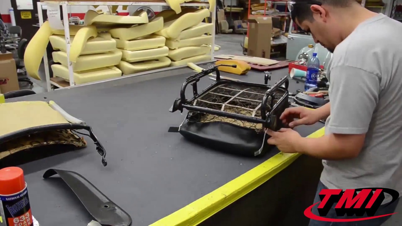 TMI Products - VW Highback To Lowback Seat Conversion