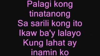 Repeat youtube video kung alam mo lang with lyrics