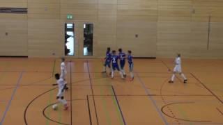 U12 Jhg2005 FC Schalke 04 - 1. FC Köln 3:2; Hallencup Rheinsüd Köln 14.01.2017