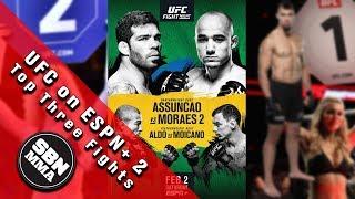UFC on ESPN+ 2 'Assuncao Vs. Moraes 2' Top Three Fights To Watch