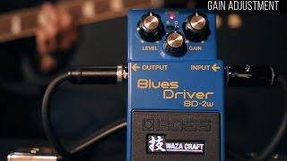Boss BD-2W Blues Driver Waza Craft pedal