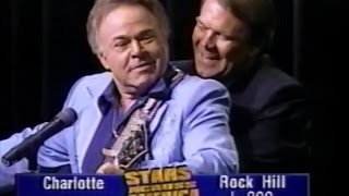 Wildwood Flower - Glen Campbell and Roy Clark... on one guitar! (1996)