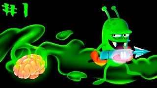 Охотники на Зомби #1 мультяшная игра для детей на андроид Zombie Catchers #1 cartoon game for kids
