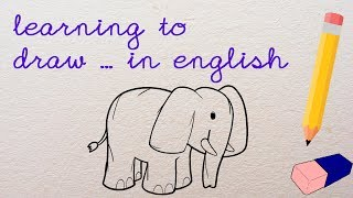 Learning to draw... An Elephant.