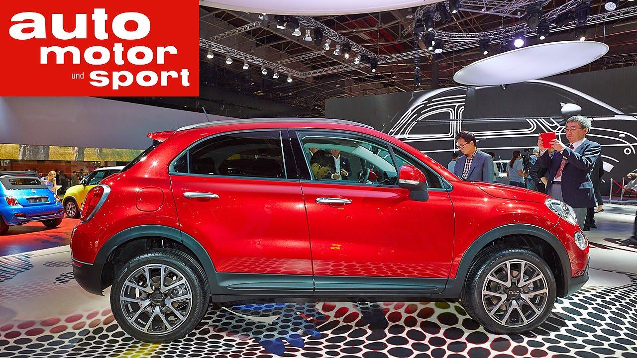 Fiat 500X auf dem Pariser Autosalon 2014